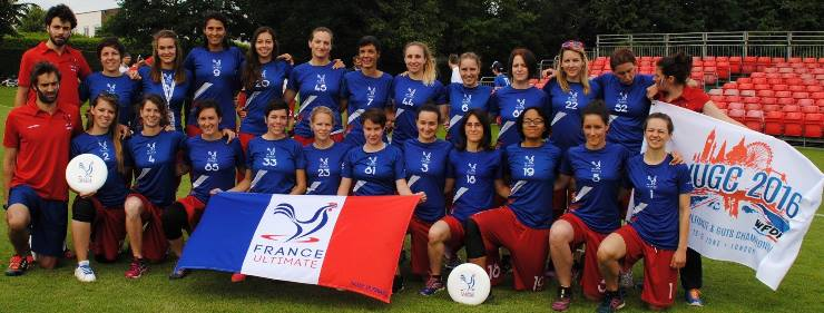 France Féminine WUGC 2016 - © FFDF 2016