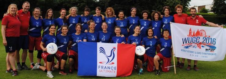 France Master Féminine WUGC 2016 - © FFDF 2016