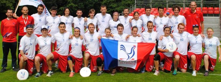 France Mixte WUGC 2016 - © FFDF 2016