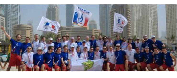 Les derniers championnats du monde sur sable ont eu lieu à Dubaï en 2015 - © 2015 FFDF
