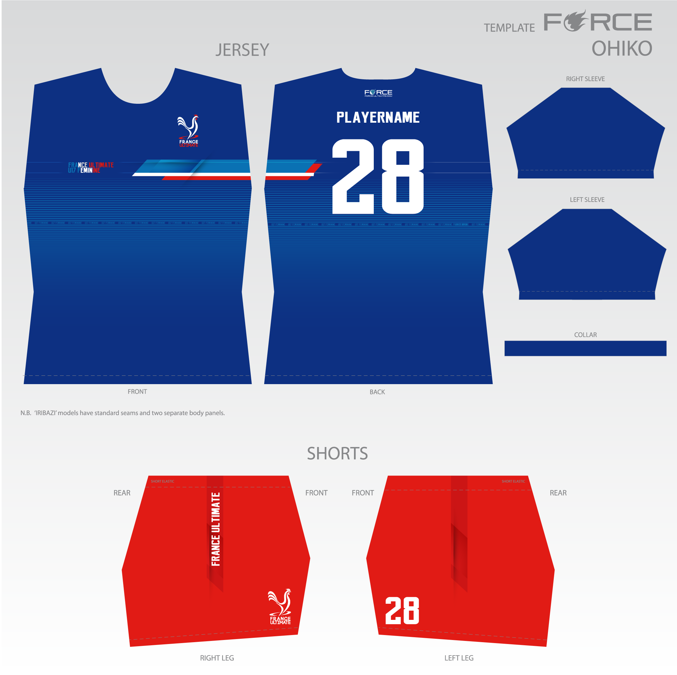 Le maillot bleu France Ultimate 2018