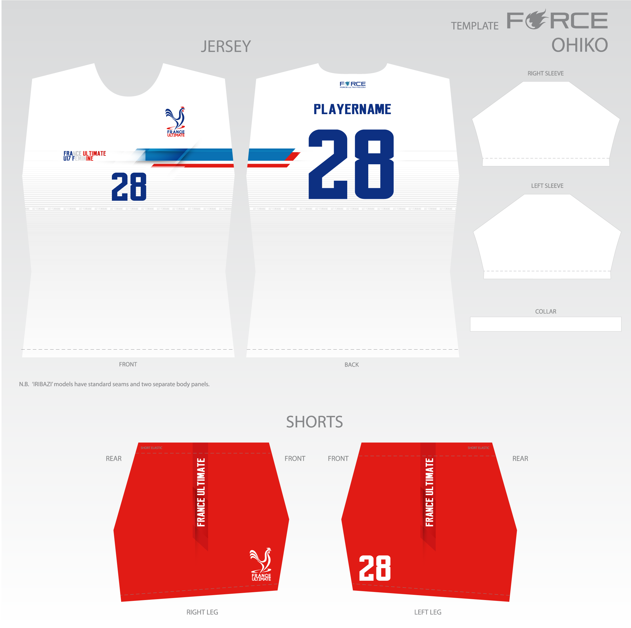 Le maillot blanc France Ultimate 2018
